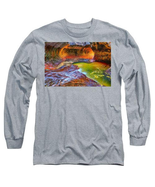Zion Subway Long Sleeve T-Shirt by Greg Norrell