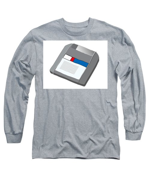 Zip Disk Long Sleeve T-Shirt