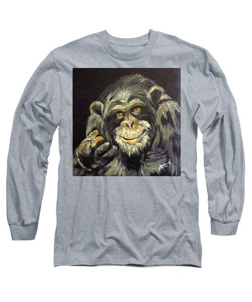 Zippy Long Sleeve T-Shirt by Barbara O'Toole