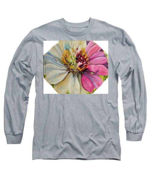 Zippy Zinnia Long Sleeve T-Shirt