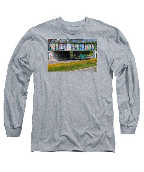 Zoo Mural Long Sleeve T-Shirt by Michiale Schneider