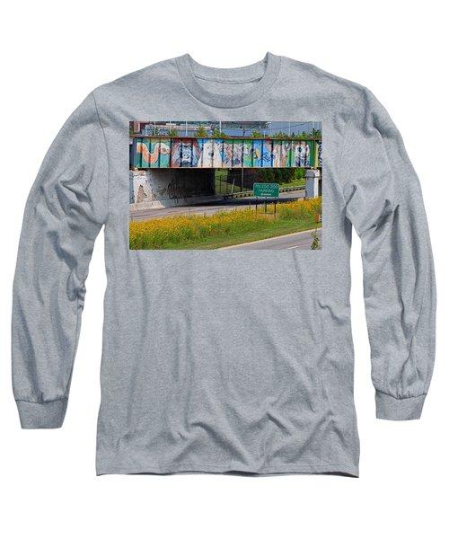 Zoo Mural Long Sleeve T-Shirt