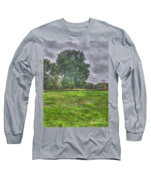 Blacklick Circle Earthwork Long Sleeve T-Shirt