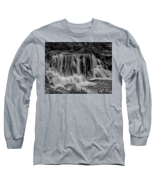 Blackwater Falls Mono 1309 Long Sleeve T-Shirt