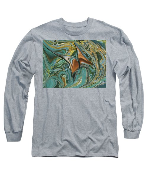 Bronze Butterfly Long Sleeve T-Shirt