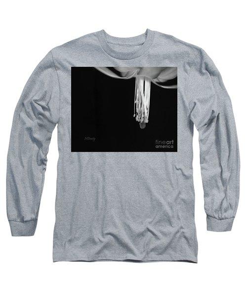 Christmas Cactus Stamen Long Sleeve T-Shirt