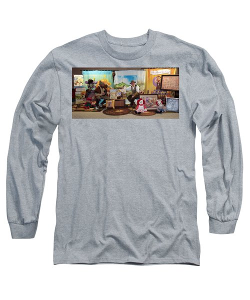 Doctor Jay And The Guardians Of Time Long Sleeve T-Shirt