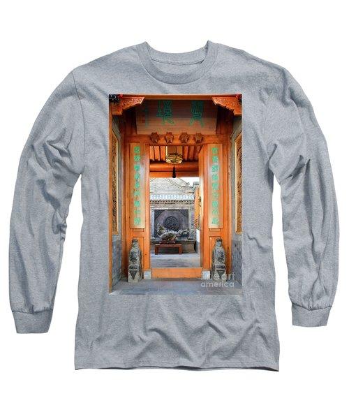 Fangija Hutong Long Sleeve T-Shirt