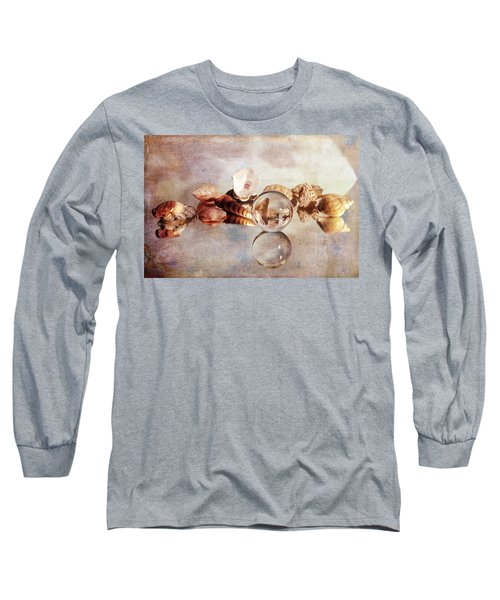 Long Sleeve T-Shirt featuring the photograph Gems From The Beach by Randi Grace Nilsberg