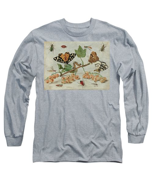 Insects And Fruit, 1665 Long Sleeve T-Shirt