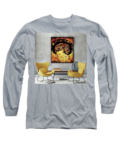 Lady Mystery Long Sleeve T-Shirt