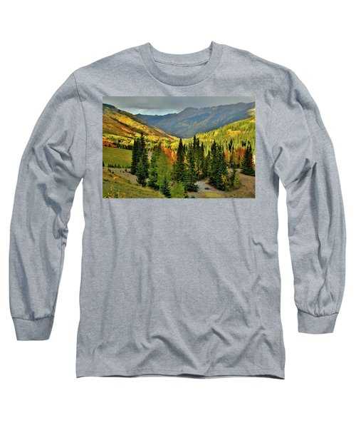 Looking North From Red Mountain Pass Long Sleeve T-Shirt