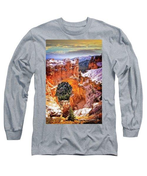 Long Sleeve T-Shirt featuring the photograph Natural Bridge by Scott Kemper