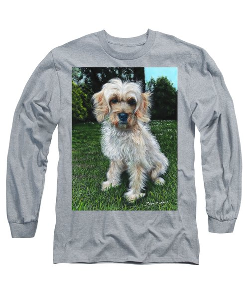 Portrait Of Toffee Long Sleeve T-Shirt