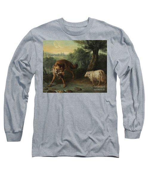 The Wolf And The Lamb Long Sleeve T-Shirt