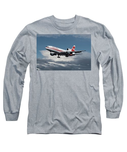 Trans World Airlines L-1011 Tristar Long Sleeve T-Shirt