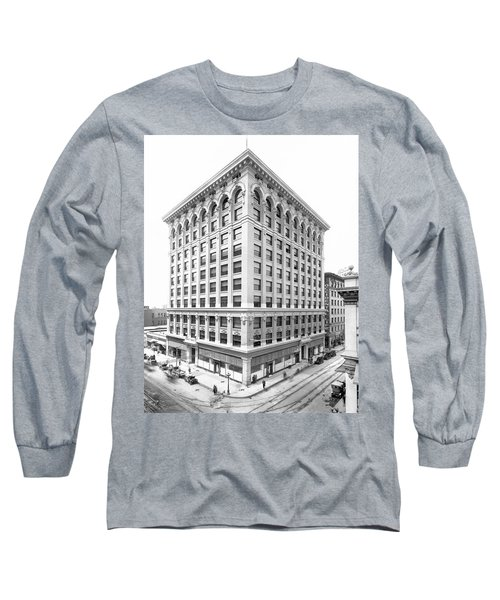 1912 Central Building  Los Angeles  Ca Long Sleeve T-Shirt