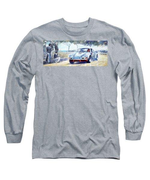 1973 Targa Floria Porsche 911 Carrera Rsr Martini Racing Lennep Muller Winner  Long Sleeve T-Shirt