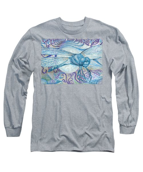 Dragonfly Moon Long Sleeve T-Shirt