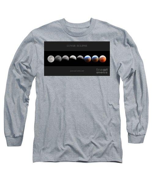 Super Blood Wolf Moon Long Sleeve T-Shirt