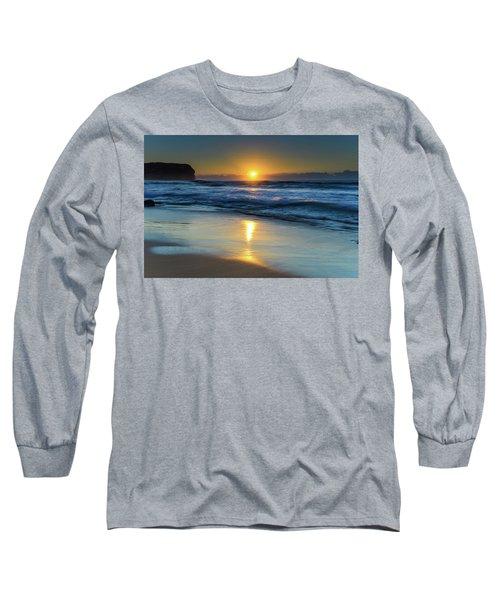 Sunrise Lights Up The Sea Long Sleeve T-Shirt