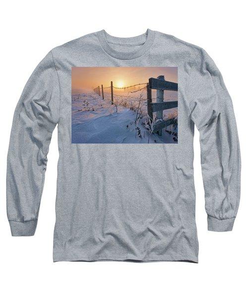 -30 Sunrise Long Sleeve T-Shirt