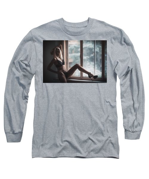 Long Sleeve T-Shirt featuring the photograph 3689 by Traven Milovich