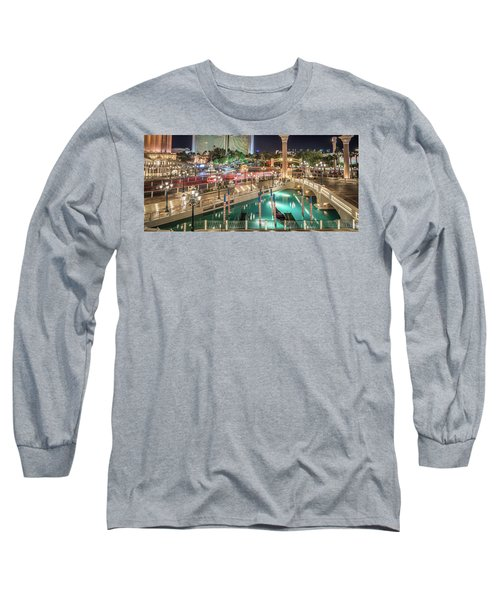 View Of The Venetian Hotel Resort And Casino Long Sleeve T-Shirt
