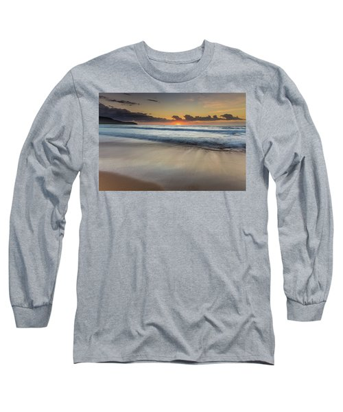 Sunrise Beach Seascape Long Sleeve T-Shirt