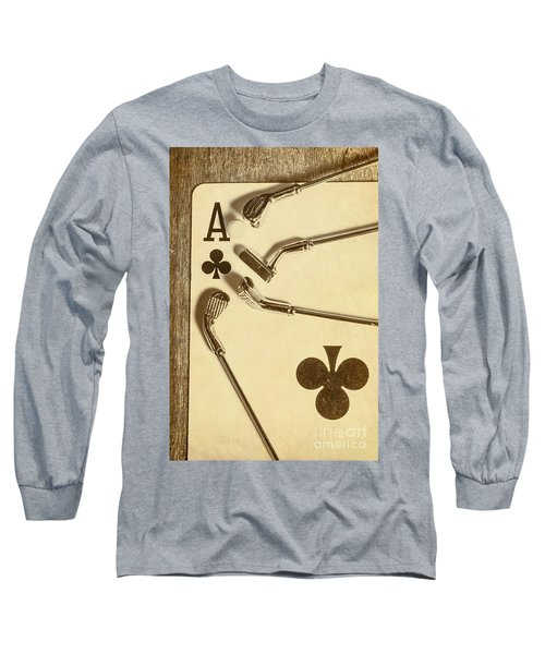 A Classic Round Long Sleeve T-Shirt