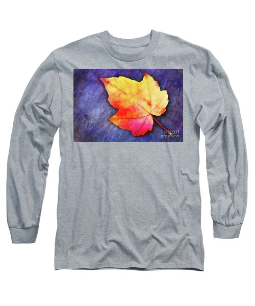 A Colorful Fall Memory Long Sleeve T-Shirt
