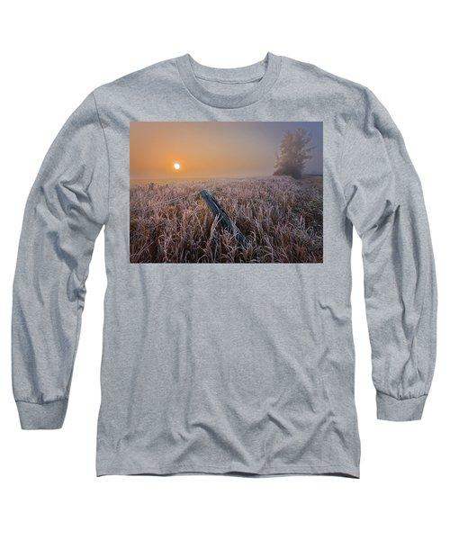 A Crisp October Morning Long Sleeve T-Shirt