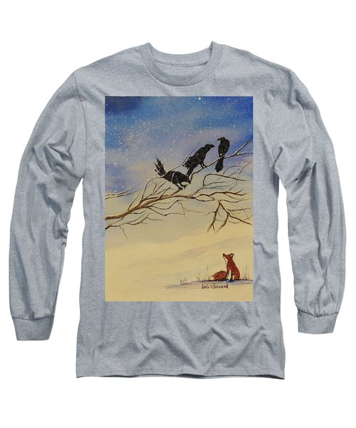 A Fox And His Cronies Long Sleeve T-Shirt