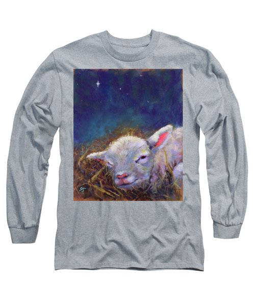 A King Is Born Long Sleeve T-Shirt