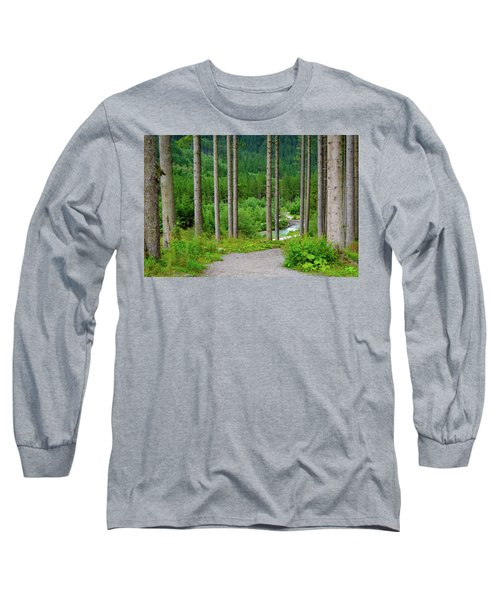 A Path To The River Long Sleeve T-Shirt