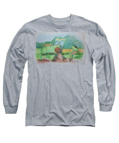 Abandoned Combine Long Sleeve T-Shirt