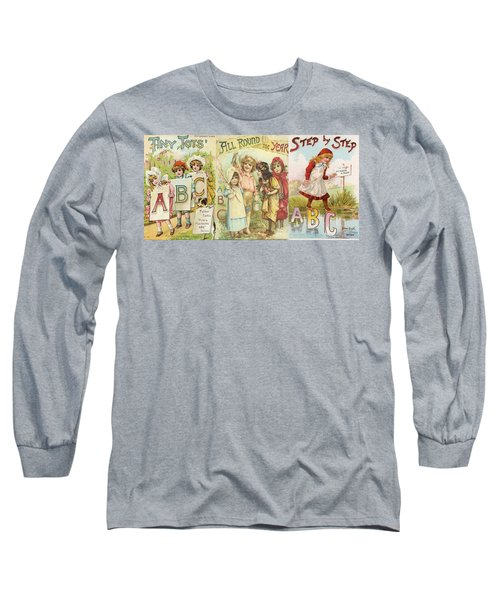 Abc Book Cover 7 For Mugs Long Sleeve T-Shirt