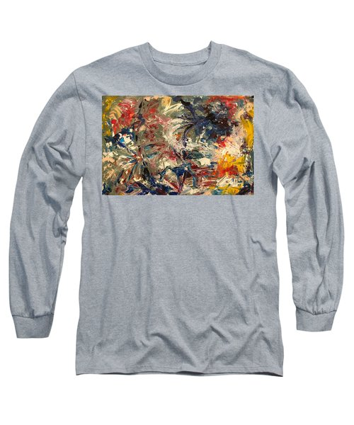 Abstract Puzzle Long Sleeve T-Shirt
