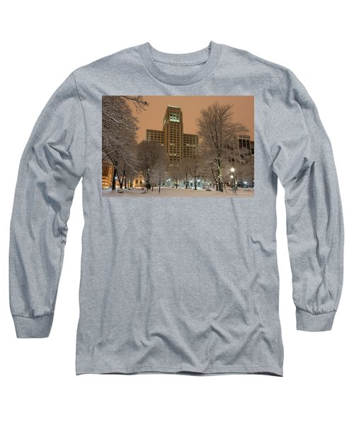 Alfred E. Smith Building Long Sleeve T-Shirt