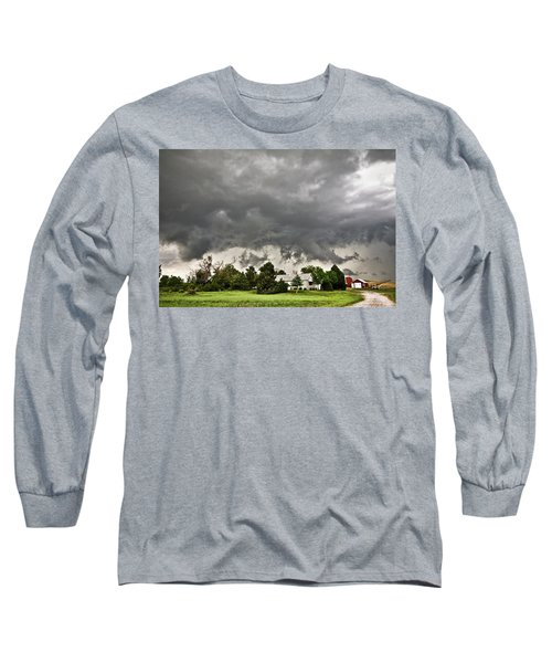 Alive Sky In Wyoming 2 Long Sleeve T-Shirt