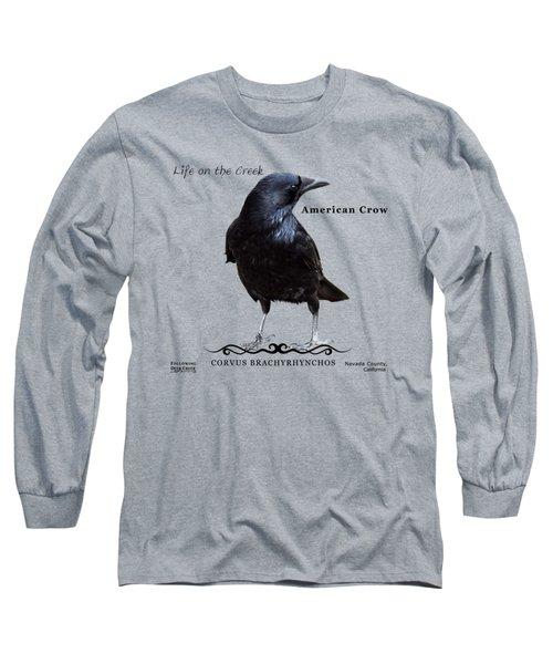 American Crow Long Sleeve T-Shirt