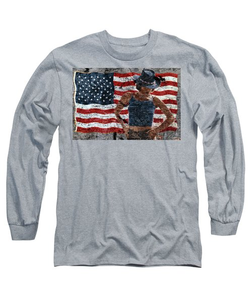 American Woman Long Sleeve T-Shirt