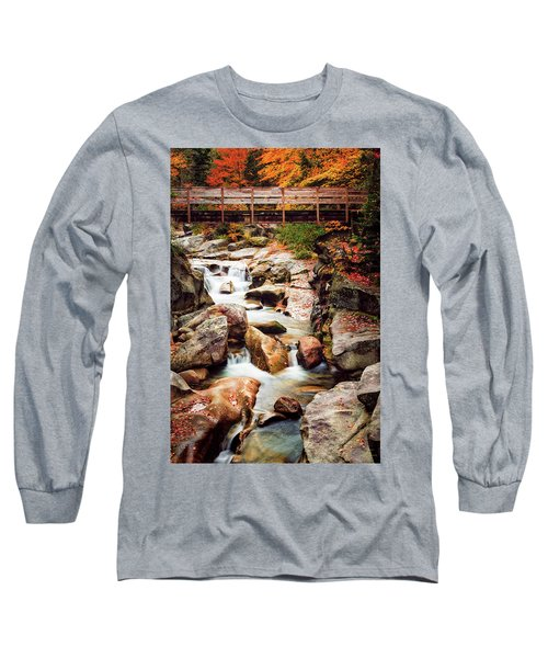 Ammonoosuc River, Autumn Long Sleeve T-Shirt