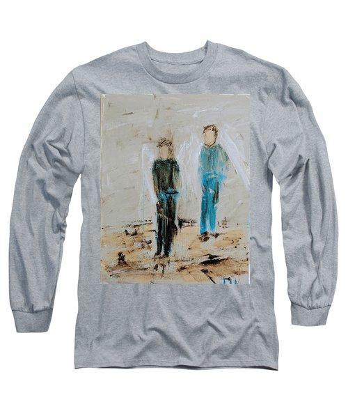 Angel Boys On A Dirt Road Long Sleeve T-Shirt