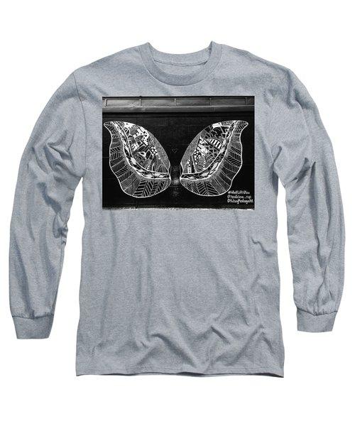 Angel Butterfly Wings Long Sleeve T-Shirt