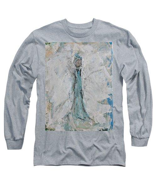 Angel Of Faith Long Sleeve T-Shirt
