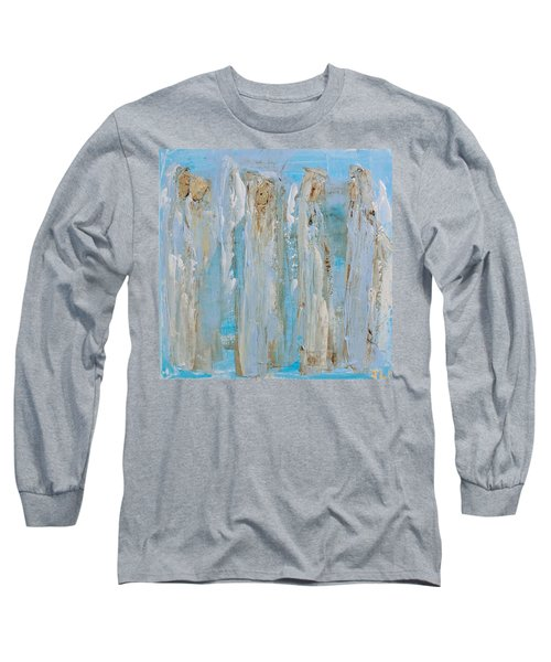 Angels Coming Together Long Sleeve T-Shirt