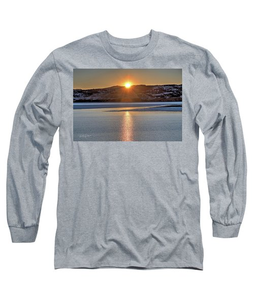 Long Sleeve T-Shirt featuring the photograph Angostura Sunset by Bill Gabbert