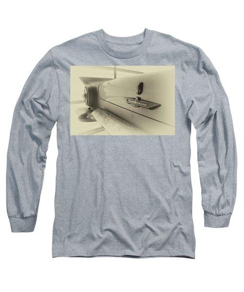 Antique Classic Car Vintage Effect Long Sleeve T-Shirt