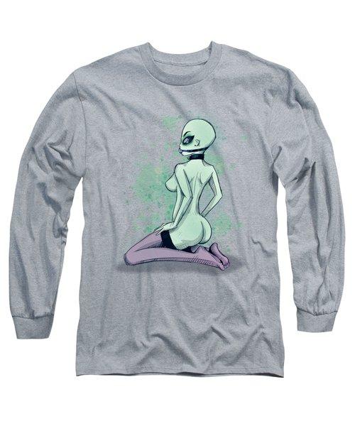Area 51 Babe Long Sleeve T-Shirt